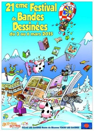 Les petits chats au 21ème festival de la bande dessinée des Saisies