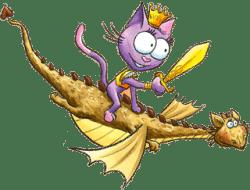 Princesse Charlène amie du chat Teaufort
