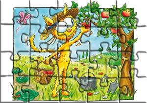 Faire un puzzle avec les petits chats