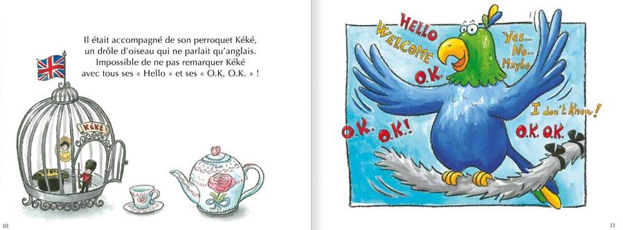 Feuilleter l'album Le Chat Viré. Lire les pages 6 et 7 de ce livre pour enfants