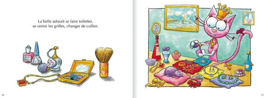 Découvrir l'album Les Chats Telains. Lire les pages 6 et 7 de ce livre pour enfants