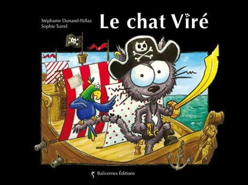 Couverture de l'album Le chat Viré de la collection Les Petits Chats