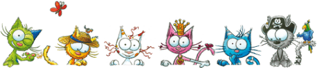 Des puzzles gratuits à faire avec Les petits chats