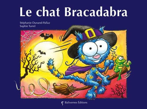 Couverture de l'album Le chat Bracabra de la collection Les Petits Chats