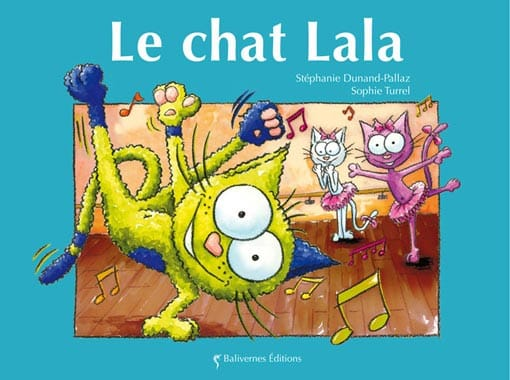 Couverture de l'album Le chat Lala de la collection Les Petits Chats