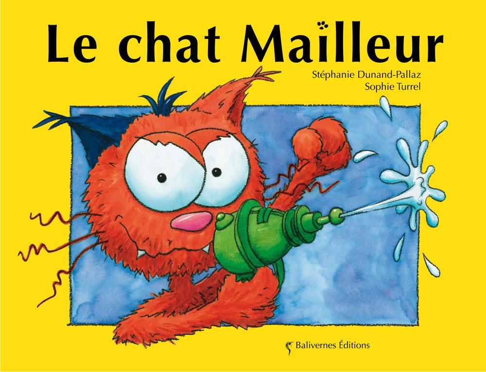 Couverture de l'album le chat Mailleur de la collection Les Petits Chats