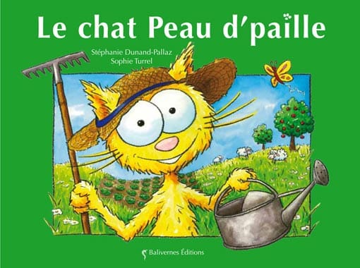 Couverture de l'album le chat Peau d'paille de la collection Les Petits Chats