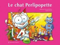 Couverture de l'album le chat Perlipopette, un livre de la collection Les Petits Chats