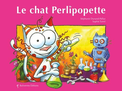 Couverture de l'album Le chat Perlipopette de la collection Les Petits Chats
