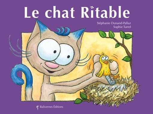 Couverture de l'album Le chat Ritable de la collection Les Petits Chats