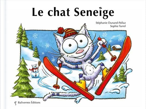 Couverture de l'album Le chat Seneige de la collection Les Petits Chats