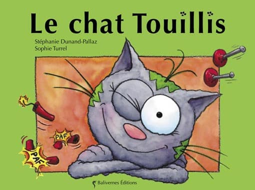 Couverture de l'album Le chat Touillis de la collection Les Petits Chats