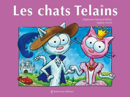 Couverture de l'album les chats Telains de la collection Les Petits Chats