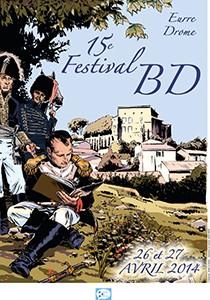 Affiche du 15ème festival BD de Eurre 2014