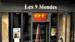 Dédicaces à la librairie BD les 9 mondes