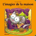Imagier de la maison livre cartonné pour les bébés