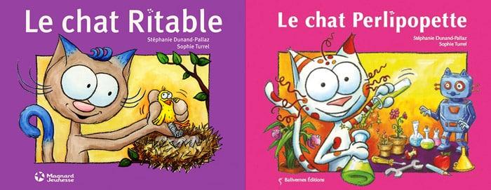 Couverture chat Ritable et chat Perlipopette