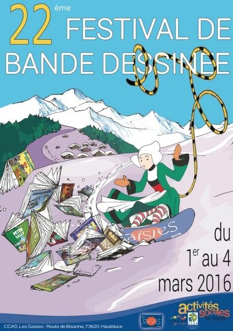 festival de Bande dessinée aux Saisies en Savoie