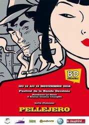 Affiche du festival BD de Grenoble 2016