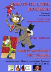 Affiche dedicace mjc chambery