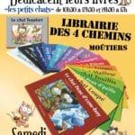 Dédicaces le 13 mai 2017 Librairie des 4 chemins à Moûtiers