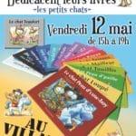 affiche dédicaces Villard café le 12 mai 2017