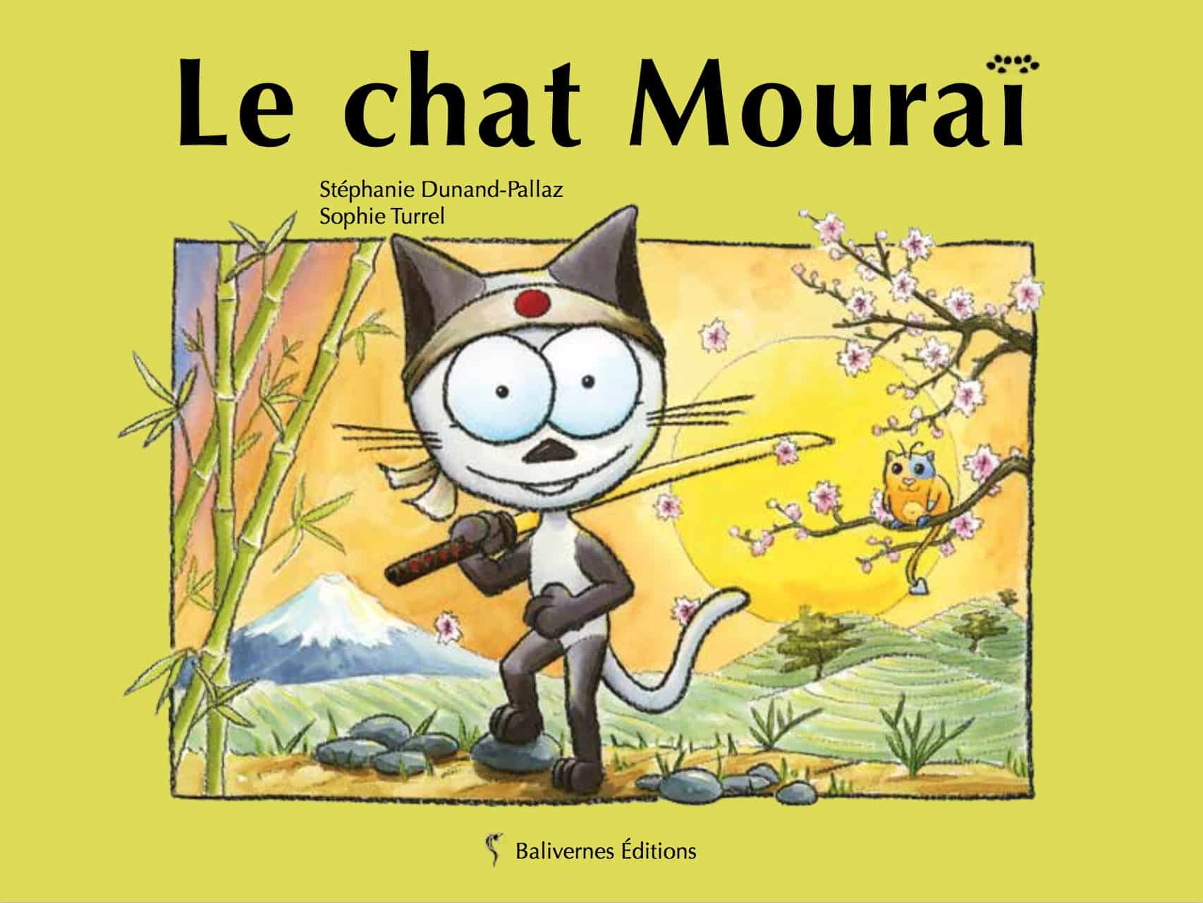 Le Chat Mouraï, album de la collection Les Petits Chats