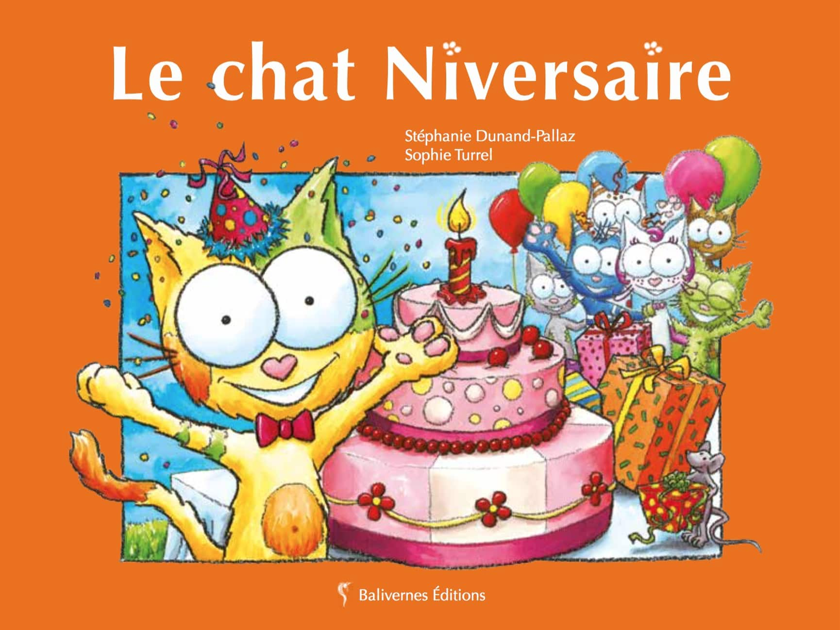 Le Chat Niversaire, album de la collection Les Petits Chats