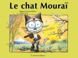 """couverture album """"le chat Mouraï"""""""