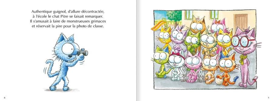 Découvrez un extrait du livre Le chat Pitre