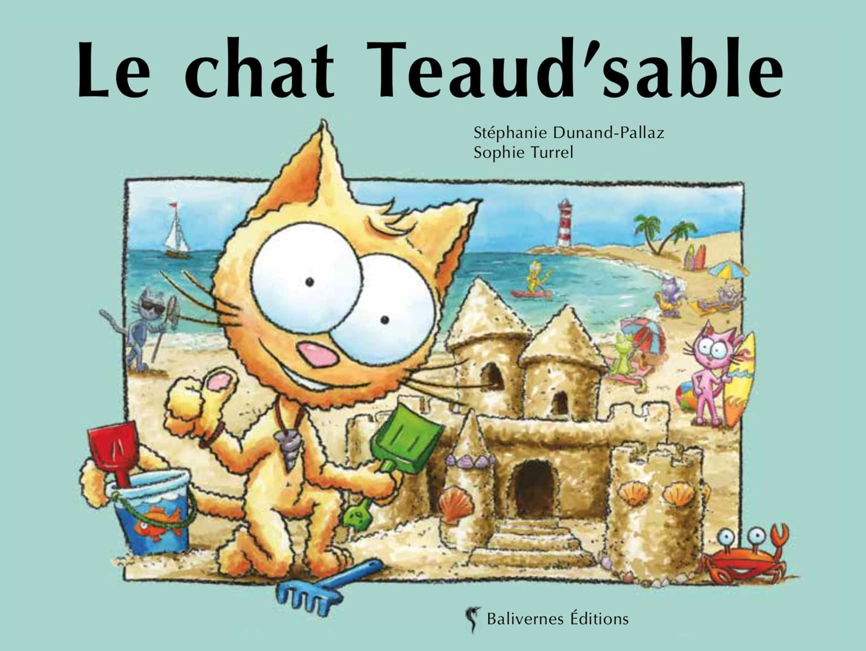 Le Chat Teaud'sable, album de la collection Les Petits Chats