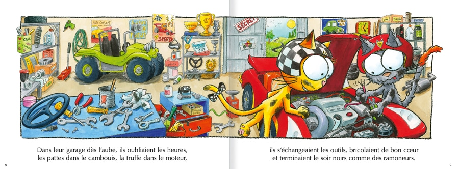 Feuilleter Les chats Peaud'roues