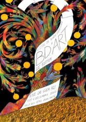 Affiche du 22ème Festival BD'Art à Rive de Gier