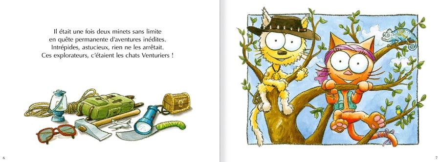 Extrait de l'album Les chats Venturiers - page 1