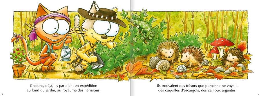 Extrait de l'album Les chats Venturiers - page 2