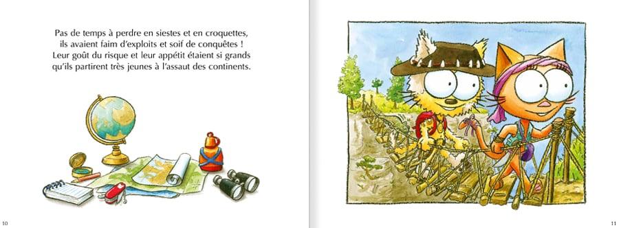 Extrait de l'album Les chats Venturiers - page 3