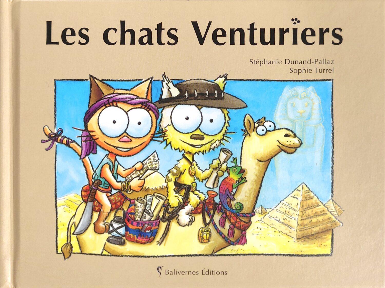 Couverture de l'album les chats Venturiers